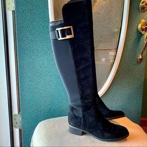NWT Calvin Klein Black Knee High Boots